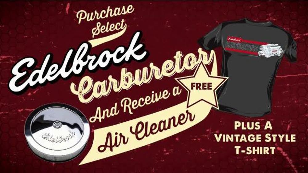 Edelbrock Carburetor TV Commercial - Video