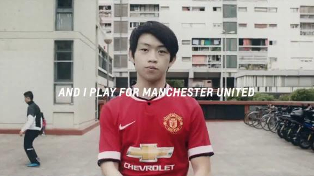 finest selection 32e2a 8c66c Chevrolet TV Commercial, 'Play for Manchester United' Featuring Wayne  Rooney - Video