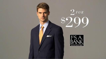 JoS. A. Bank Two for $299 Suit Event TV Spot, 'Slim and Traditional Suits' - Thumbnail 2