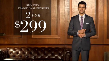 JoS. A. Bank Two for $299 Suit Event TV Spot, 'Slim and Traditional Suits' - Thumbnail 3