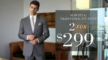 JoS. A. Bank Two for $299 Suit Event TV Spot, 'Slim and Traditional Suits' - Thumbnail 6