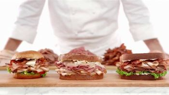 Arby's Mega Meat Stacks TV Spot, 'Almost All The Meats' - 9 commercial airings