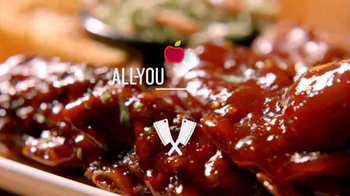 Applebee's All-You-Can-Eat Crosscut Ribs TV Spot, 'Be the First' - Thumbnail 1