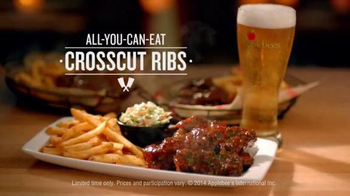 Applebee's All-You-Can-Eat Crosscut Ribs TV Spot, 'Be the First' - Thumbnail 8