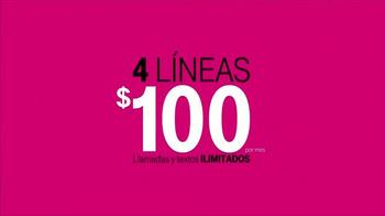 T-Mobile Plan Familiar TV Spot, 'Obstacle Course' [Spanish] - Thumbnail 8