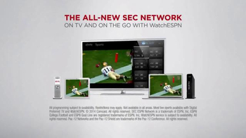 XFINITY WatchESPN TV Spot, 'SEC Network' - Thumbnail 8