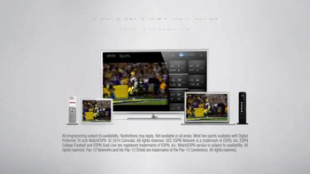 XFINITY WatchESPN TV Spot, 'SEC Network' - Thumbnail 9