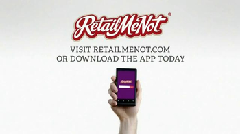 Retailmenot.com TV Spot, 'We're Out to Save the World (Some Money)' - Thumbnail 9