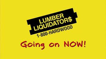 Lumber Liquidators TV Spot, 'Unbelievable Pricing' - Thumbnail 10