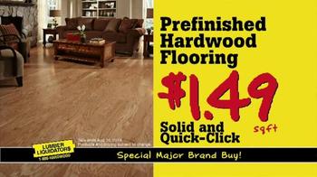 Lumber Liquidators TV Spot, 'Unbelievable Pricing' - Thumbnail 5