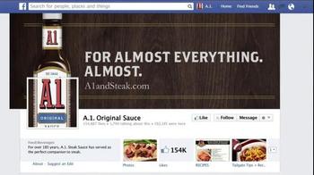 A1 Steak Sauce TV Spot, 'New Friend Requests'