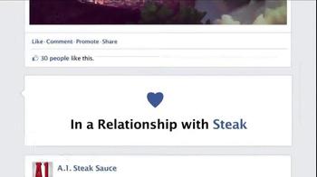 A1 Steak Sauce TV Spot, 'New Friend Requests' - Thumbnail 2