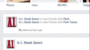 A1 Steak Sauce TV Spot, 'New Friend Requests' - Thumbnail 4