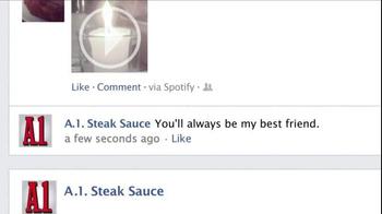 A1 Steak Sauce TV Spot, 'New Friend Requests' - Thumbnail 7