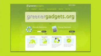 GreenerGadgets.org TV Spot, 'Thank You' - Thumbnail 10