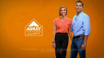 Ashley Furniture Homestore TV Spot, 'Labor Day Event' Ft. Giuliana and Bill - Thumbnail 10