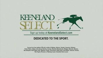 Keeneland Select TV Spot - Thumbnail 8