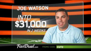 FanDuel Fantasy Football One-Week Leagues TV Spot, 'Get Your Share' - Thumbnail 1