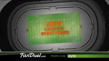 FanDuel Fantasy Football One-Week Leagues TV Spot, 'Get Your Share' - Thumbnail 2