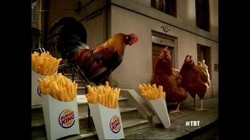 Burger King Chicken Fries TV Spot, 'Chicken Fries 2005' - Thumbnail 5