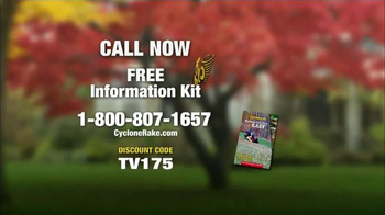 Cyclone Rake TV Spot, 'Surprise!' - Thumbnail 9
