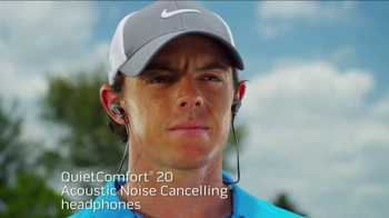 Bose Quiet Comfort 20 TV Spot, 'Stay Focused' Featuring Rory McIlroy - Thumbnail 5