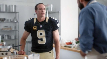 Verizon NFL Mobile TV Spot, 'Cooking Class' Featuring Drew Brees - 967 commercial airings