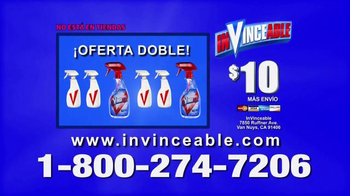 InVinceable Spray TV Spot [Spanish] - Thumbnail 8