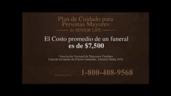 Senior Life Insurance Company TV Spot, 'Beneficios' [Spanish] - Thumbnail 3
