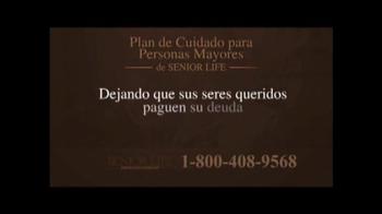 Senior Life Insurance Company TV Spot, 'Beneficios' [Spanish] - Thumbnail 4