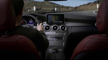 2015 Mercedes-Benz C-Class 4MATIC TV Spot, 'Touchpoint' - Thumbnail 5