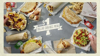 Taco Bell Dollar Cravings Menu TV Spot, 'Cumpeaños' [Spanish] - Thumbnail 8