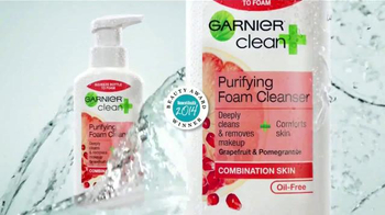 Garnier Clean+ Purifying Foam Cleanser TV Spot, 'Una Mejor Piel' [Spanish] - Thumbnail 4