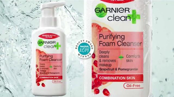 Garnier Clean+ Purifying Foam Cleanser TV Spot, 'Una Mejor Piel' [Spanish] - Thumbnail 5