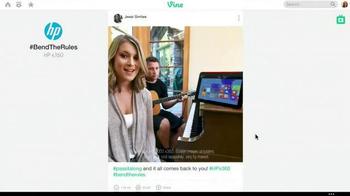HP Pavilion x360 TV Spot, '#BendTheRules of TV Advertising' - Thumbnail 1