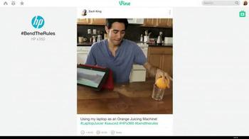 HP Pavilion x360 TV Spot, '#BendTheRules of TV Advertising' - Thumbnail 2