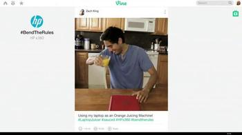 HP Pavilion x360 TV Spot, '#BendTheRules of TV Advertising' - Thumbnail 3