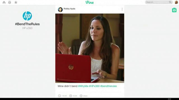 HP Pavilion x360 TV Spot, '#BendTheRules of TV Advertising' - Thumbnail 4