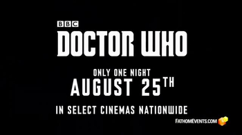 Doctor Who Season Premier Cinema Event TV Spot