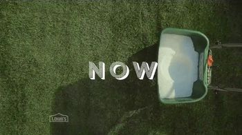 Lowe's TV Spot, 'Spread Now Spring Later' - Thumbnail 4