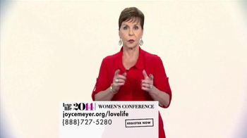 Joyce Meyer Ministries 2014 Love Life Women's Conference TV Spot