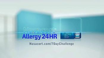 Nasacort Allergy 24HR TV Spot, '7 Day Challenge' - Thumbnail 8