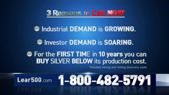 Lear Capital Silver on Sale TV Spot - Thumbnail 7