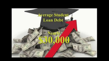 Student Loan Relief Service TV Spot, 'Average Student Debt' - Thumbnail 2