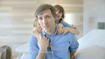Tempur-Pedic Live It Up Event TV Spot, 'My Tempur-Pedic' - Thumbnail 4