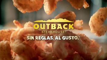 Outback Steakhouse Steak & Unlimited Shrimp TV Spot [Spanish] - Thumbnail 9