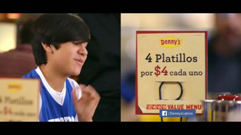 Denny's Cuatro Platillos TV Spot, 'Equipo' [Spanish] - Thumbnail 2