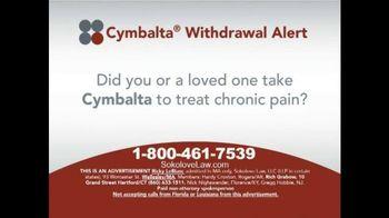 Cymbalta Withdrawal Alert thumbnail