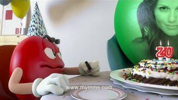 M&M's TV Spot, 'Happy Birthday' - 714 commercial airings