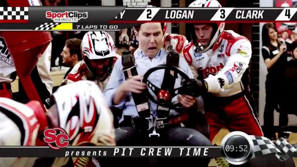 Sport Clips Tv Commercial Pit Crew Ispot